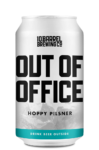 Out of Office Hoppy Pilsner - 10 Barrel Brewing Company, Bend, OR since 2006