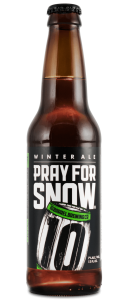 Pray For Snow Winter Ale 2017 by 10 Barrel Brewing Company, Bend, Oregon since 2006