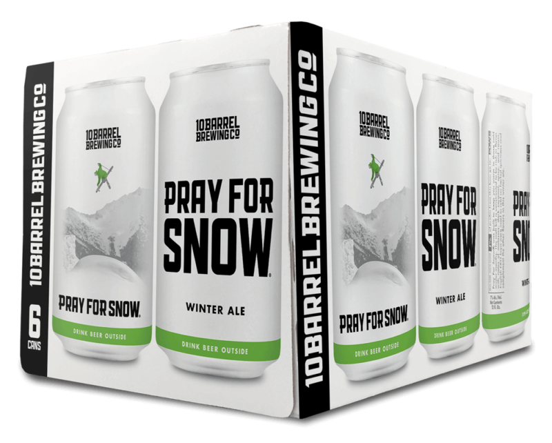 2020 Pray For Snow Winter Ale by 10 Barrel Brewing Co.