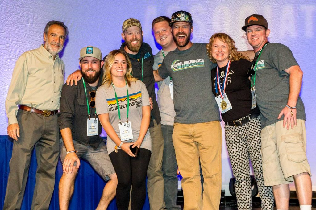 10 Barrel goes Gold at GABF!