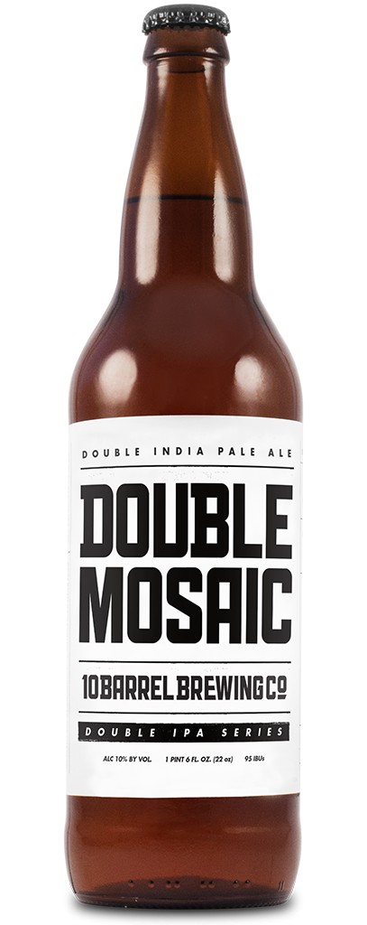Double Mosaic Double IPA - Double IPA Series - 10 Barrel Brewing Company, Bend, OR since 2006
