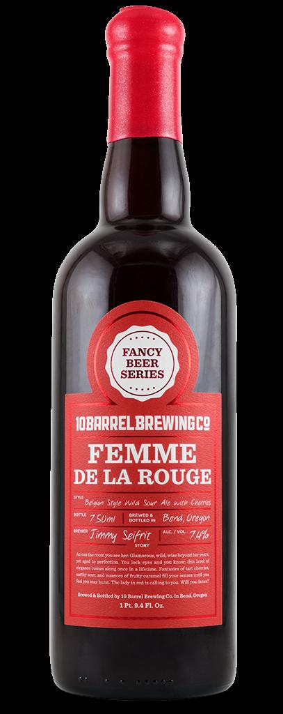 Femme De La Rouge - Belgian Style Wild Sour Ale with Cherries