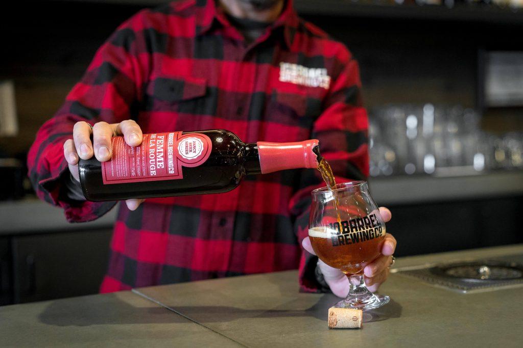 Femme De La Rouge - Fancy Beer Series from 10 Barrel Brewing Company, Bend, Oregon since 2006