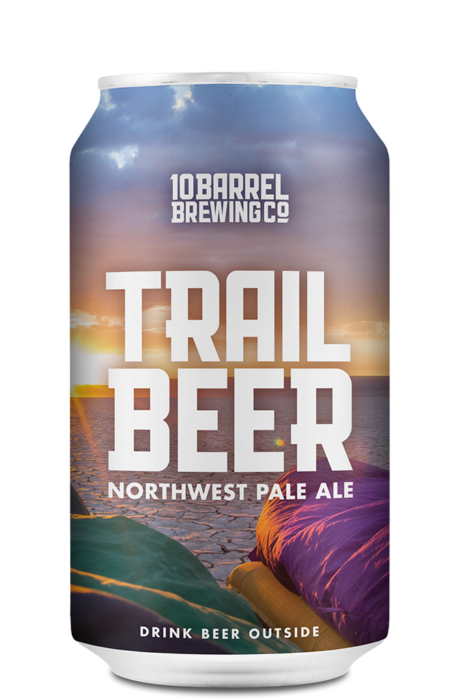 Trail Beer 12oz Can (Summer 2018) - 10 Barrel Brewing Company, Bend, OR since 2006