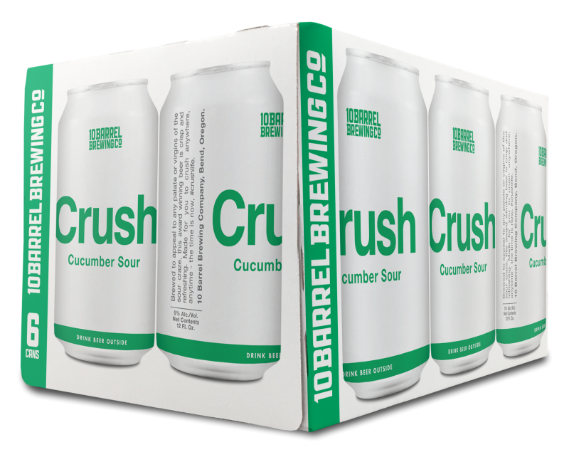 Crush Cucumber 6pk Cans
