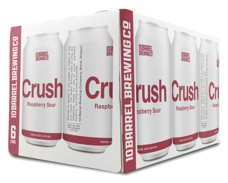 Crush Raspberry 6pk Cans