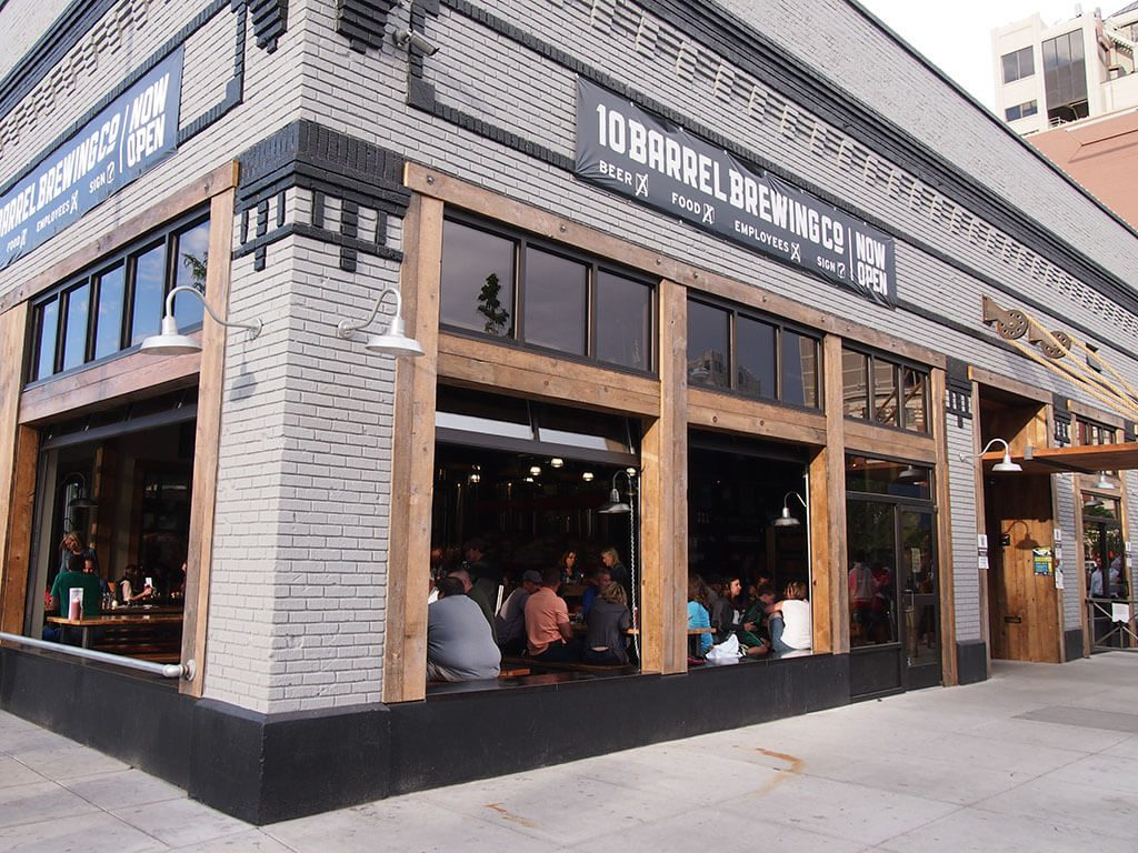 10 Barrel Brewing Co. Boise, Drink Beer Outside since 2006