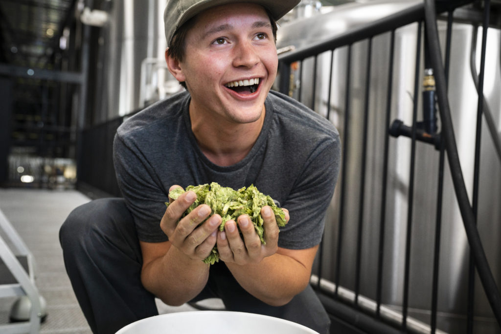 Lucas Wachs, 10 Barrel Brewing Co. Athlete, Skiing