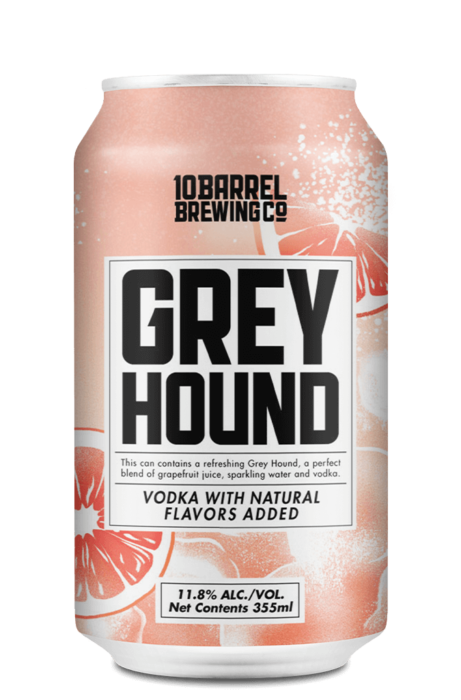 Greyhound with real Vodka by 10 Barrel Brewing Company, Bend, OR since 2006