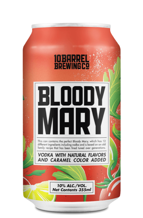Bloody Mary with real Vodka by 10 Barrel Brewing Company, Bend, OR since 2006
