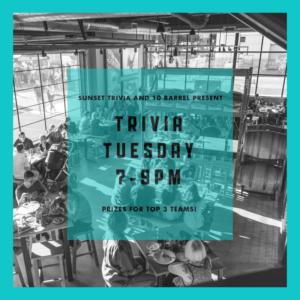 Trivia Night! - EVERY TUESDAY