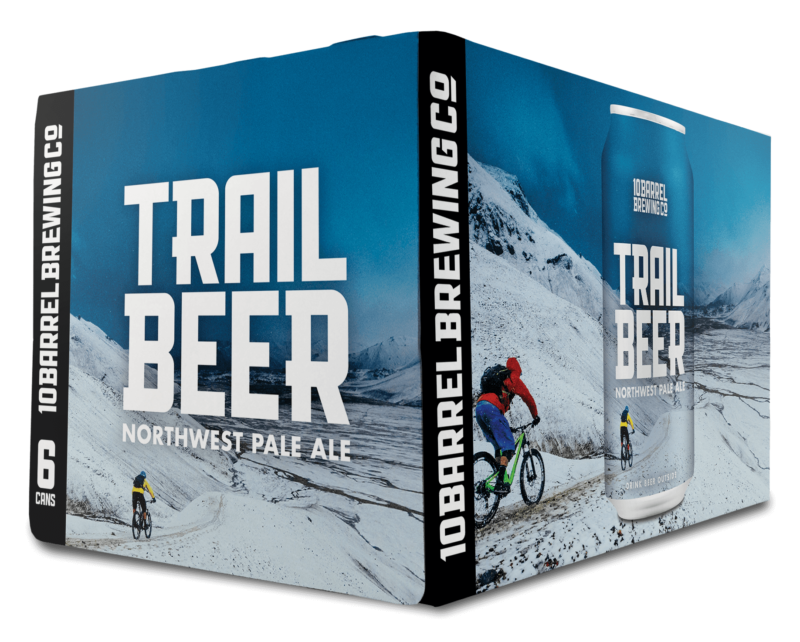 Trail Beer Fall 2018 - Northwest Pale Ale by 10 Barrel Brewing Company, Bend, OR since 2006