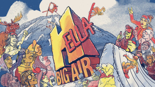 Hella Big Air- Copper Mtn