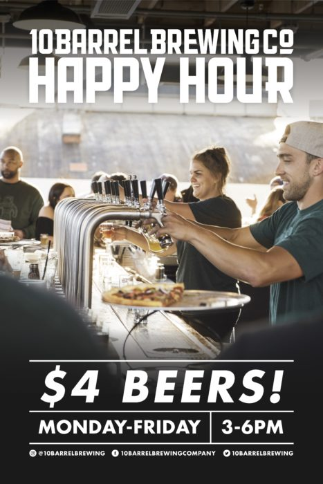 Happy Hour! Monday - Friday 3-6pm