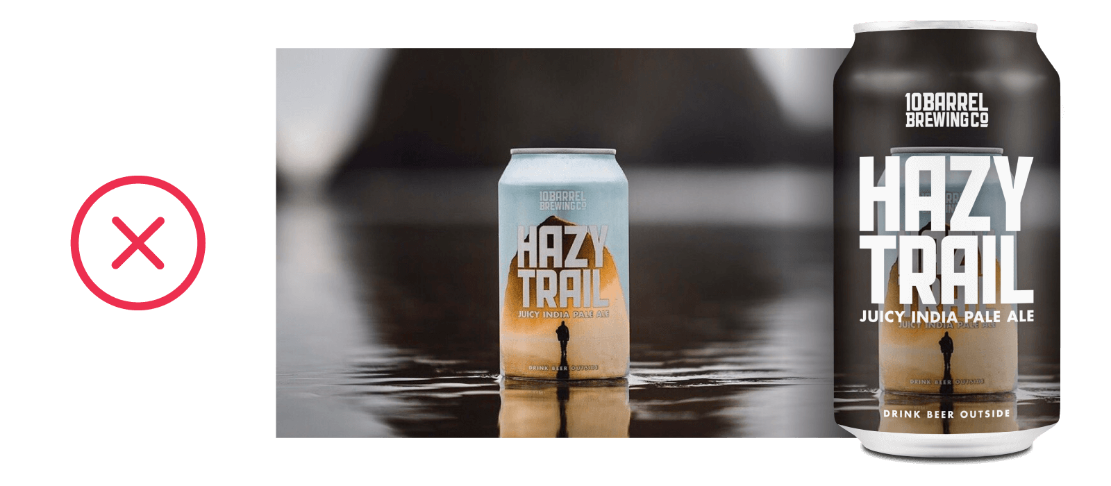 Hazy Trail - Juicy IPA by 10 Barrel Brewing Company, Bend, OR since 2006