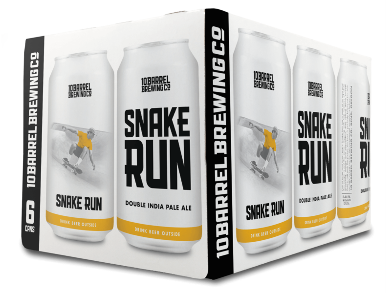 Snake Run Double IPA by 10 Barrel Brewing Co.