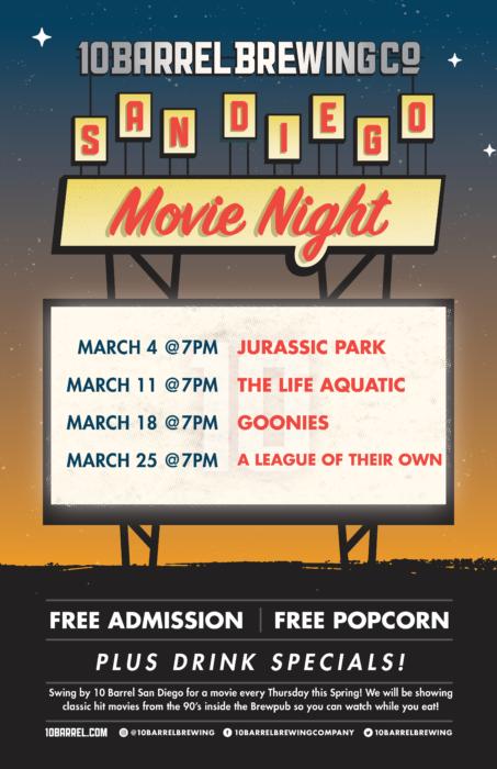 Wednesday Movie Night!