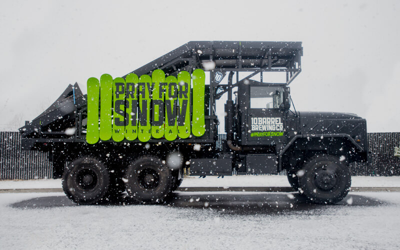 Pray For Snow Truck for Sale
