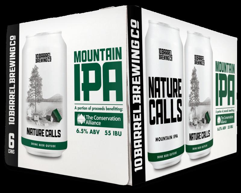 Nature Calls Mountain IPA 6pack