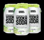 Lemongrass Lime Vodka Soda 4pk