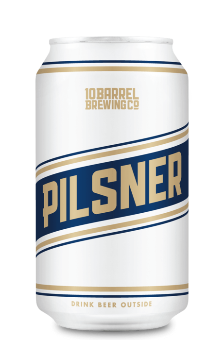Pilsner 12oz Can by 10 Barrel Brewing Company